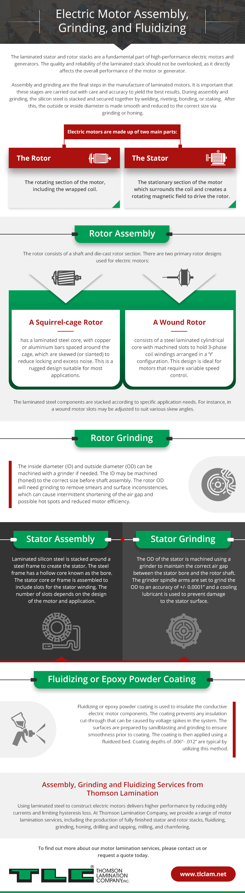 Assembly and Grinding   Thomson Lamination Company, Inc.